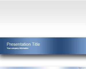 Free Engage PowerPoint Template with light clean background and blue color