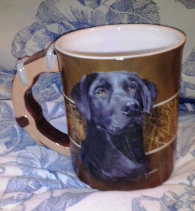 Black Dog Coffee Cup