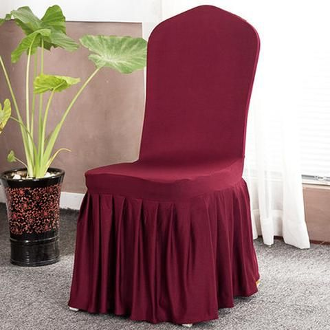 Solid Color Stretch Chair Covers  Dining Slipcovers Kitchen Ideas For Home Easy Cheap Spandex Design Elegant Fabric Simple Birthday Home Decor Ideas Decoration Shops Fabrics Fit Receptions Beautiful DIY Life Fun Accessories Modern Chic Awesome Pictures Interior Design For Sale Buy Online Shops Store Products Shopping Home improvement Housse Couverture de chaise Pas cher Achetez en ligne  USA Canada Australia France