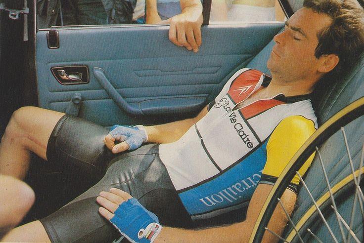 Hinault, Time-Trial Tour de France 1984 #retro #bicycle #race