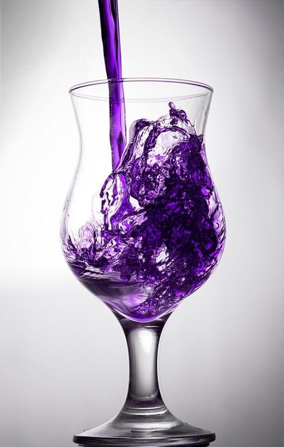 Purple Punch Recipe ~ cranberry juice, frozen grape juice, pineapple juice, sugar, water, Sprite by stacey