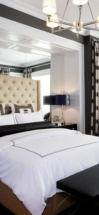 Headboard alcove.  Atmosphere Interior Design Home Lottery Fall 2012