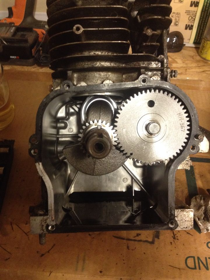 5hp Briggs Flathead Raptor Motor With Billet Crank Cam