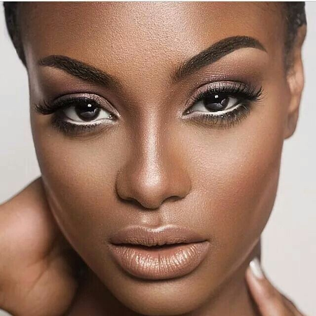 Flawless face #beauty #cosmetics #MelanatedPins                                                                                                                                                     More