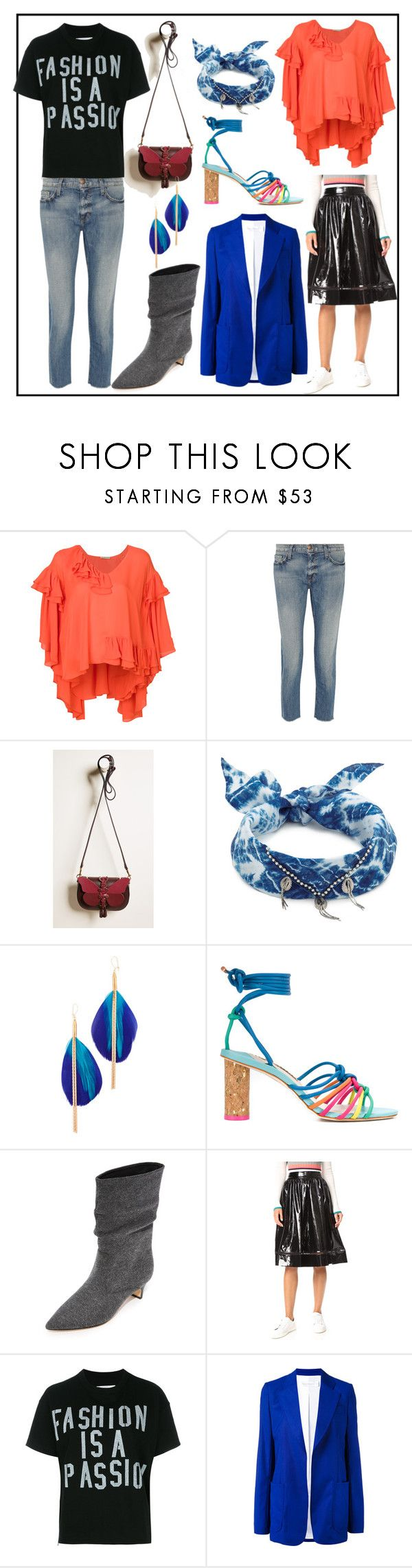 """Untitled #1034"" by racheal-taylor ❤ liked on Polyvore featuring Emilio Pucci, Current/Elliott, Anya Hindmarch, DANNIJO, Serefina, Sophia Webster, Sigerson Morrison, Alice + Olivia, Sacai and Victoria Beckham"