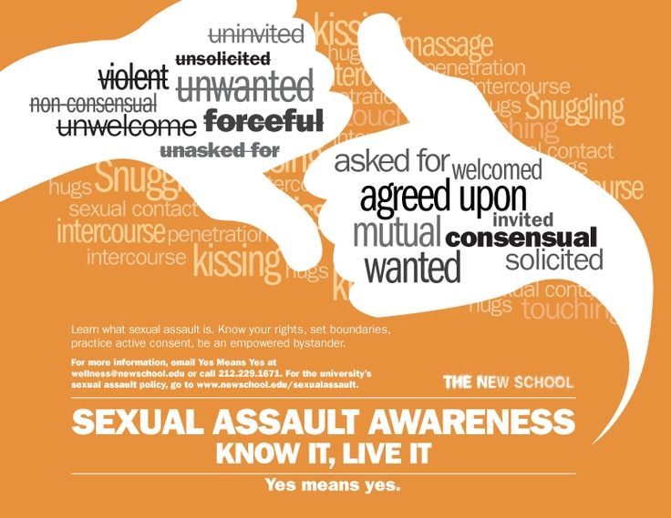 223 best Sexual assault awareness images on Pinterest Domestic - mutual consensus