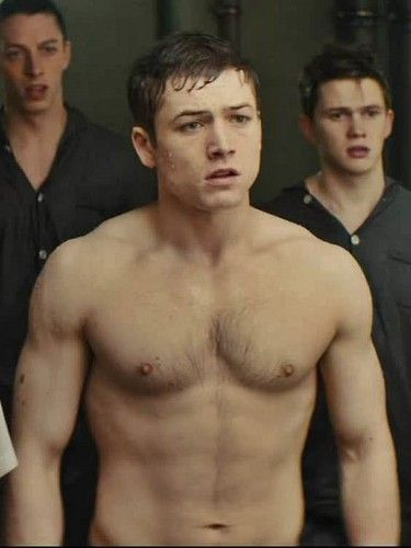Taron Egerton | Taron Egerton in 2019 | Shirtless actors