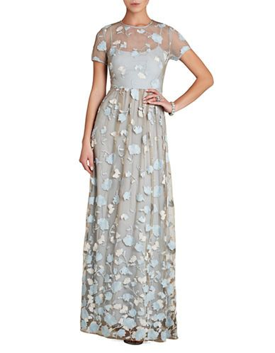 Women's Apparel | Formal/Evening | Tasi Floral Embroidered Maxi Dress | Lord and Taylor