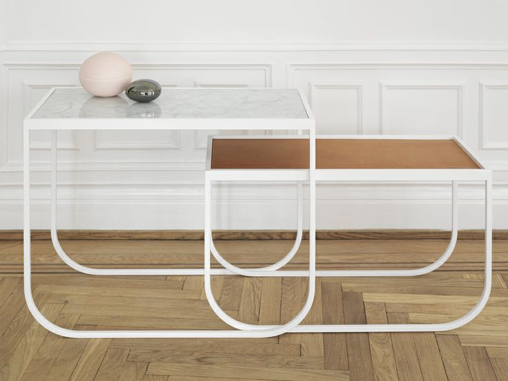 Asplund Tati Side Table... so elegant. Just what we'd need if we had somewhere to put them.