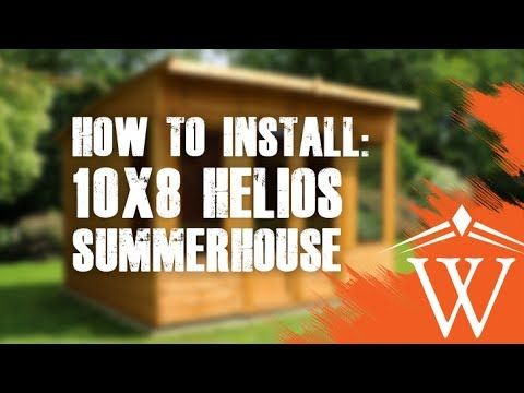 Waltons 10 x 10 Helios Summerhouse | Waltons Sheds