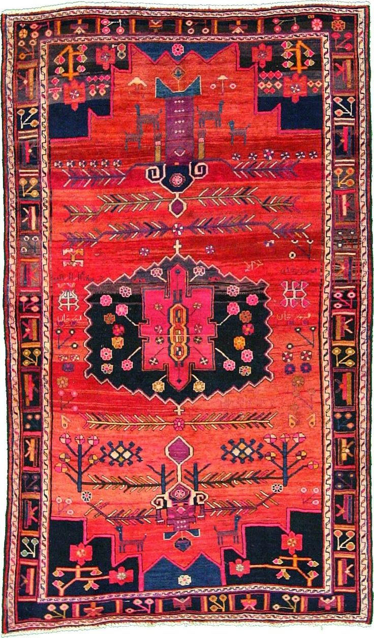 Home Chic Raleigh   Persian Rug, Bright Colored Rug, Pink And Orange Rug,