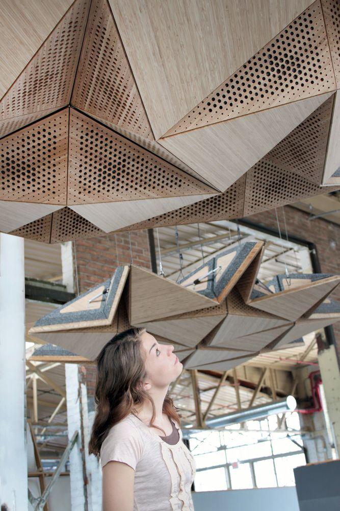 Una cámara de resonancia en madera|Espacios en madera