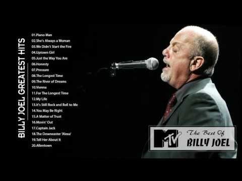 Billy Joel greatest hits full album - Best songs of Billy Joel - YouTube