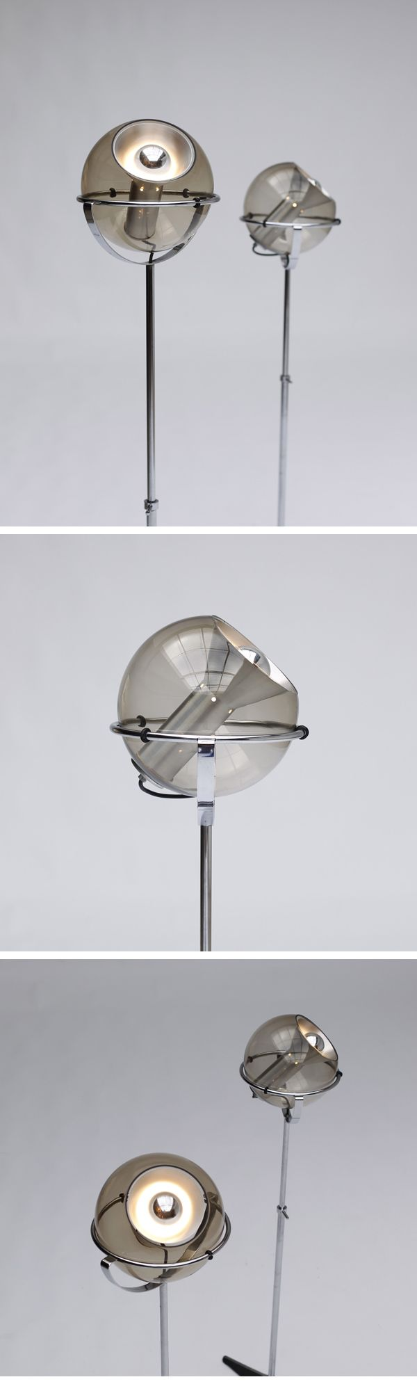 Globe 2000, Raak, floor lamps