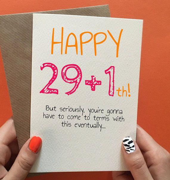 30th Birthday Card Funny Funny Birthday Cards Best Friend Etsy In 2021 30th Birthday Cards Birthday Cards For Friends 30th Birthday Funny