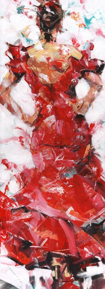 Dorus Brekelmans – Red dress dancing