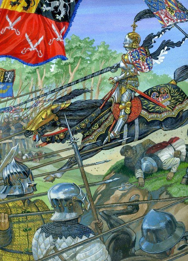 Burgundian Charge