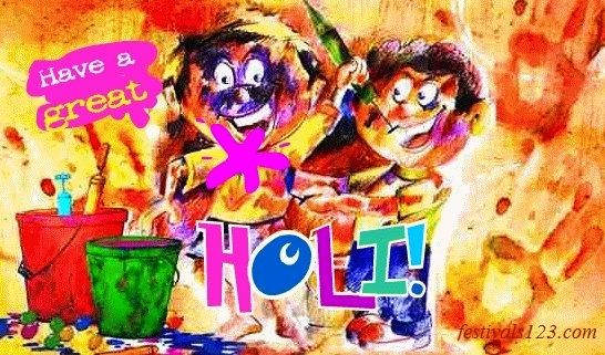 Happy Holi Colorful Wallpaper http://www.festivals123.com/2016/02/wish-happy-holi-2016-in-funny-style.html