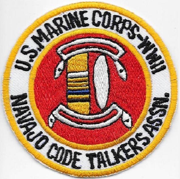 American Indian Veteran US Marines Corps USMC WWII Navajo Code Talkers Association med 4in