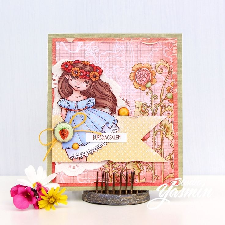 ScrapBerry's: Yasmin Tölche made this adorable card with our Sweetheart collection