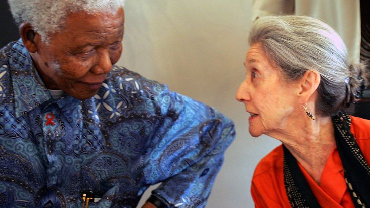 Nadine Gordimer, Novelist Who Took On Apartheid, Is Dead at 90  By HELEN T. VERONGOSJULY 14, 2014