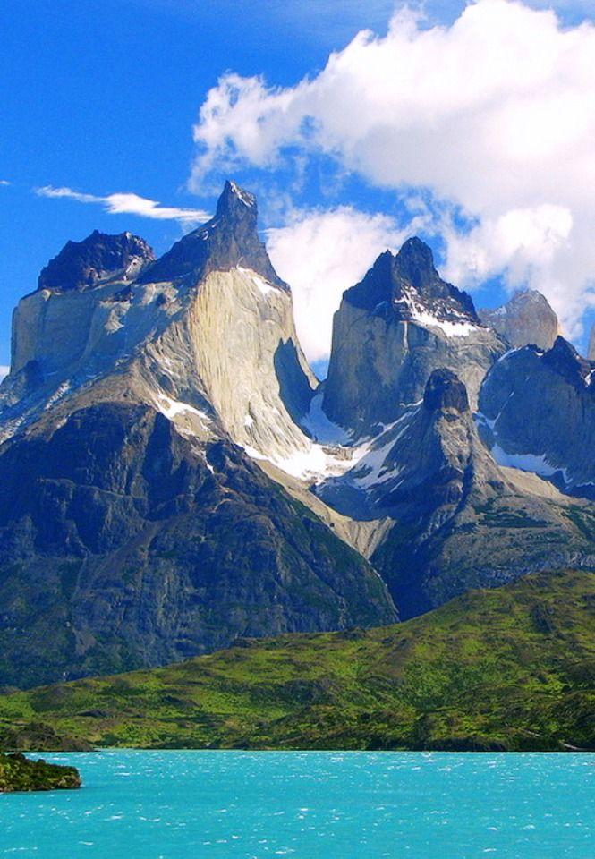 Los Cuernos del Paine from Lago Nordenskjöld, Patagonia ...
