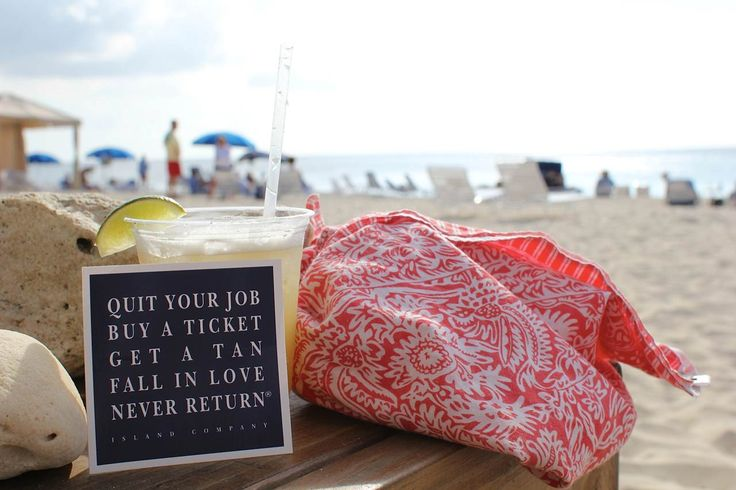 Quit your job series from Island Company. Picture in Grand Cayman!