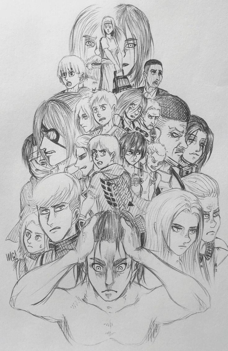 By Walynas reddit in 2020 | Attack on titan art, Anime ...