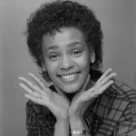 Pictures of Whitney Houston at a younger age.