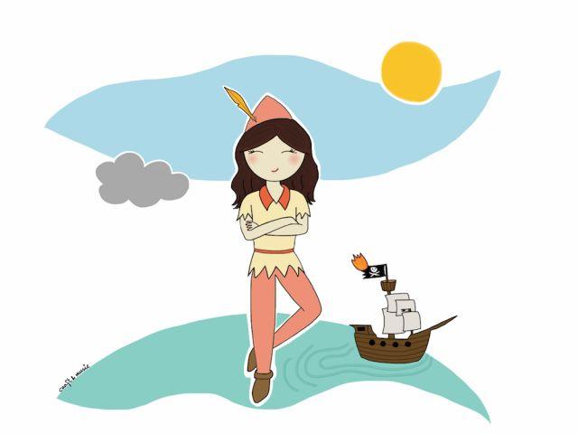 Una de piratas y niños perdidos - Peter Pan