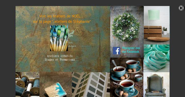 Page Principale du site Atelier Courd'Anges