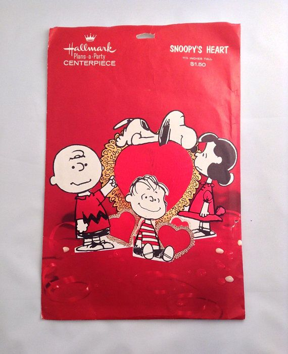 Check out this item in my Etsy shop https://www.etsy.com/listing/534041604/hallmark-snoopy-charlie-brown-valentines