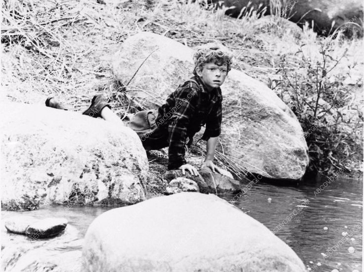photo child star Johnny Whitaker TV western show The Virginian 1213-15