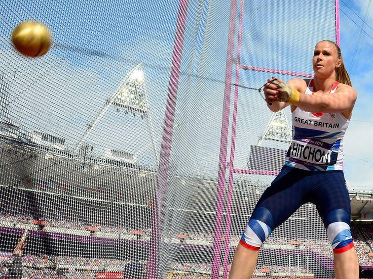 Sophie Hitchon - hammer throw.