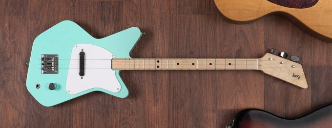 The Loog Pro allows children to shred their faces off and/or shout the devil
