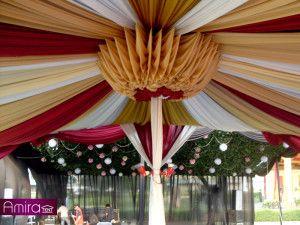 Sewa Tenda Dekorasi ( Konfensional ) Event Wedding TMII ( Taman Mini Indonesia Indah ) | Amira Tent
