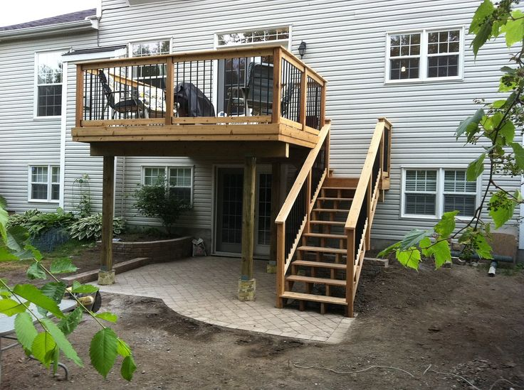 4ae02c019f3cde4baaa3e88bbb1739b7 two story deck deck ideas second story best 25 second story deck ideas on pinterest,House Plans With Second Story Porch