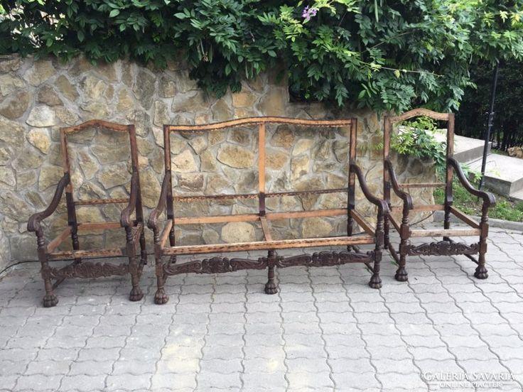 Antik reneszánsz ülőgarnitúra
