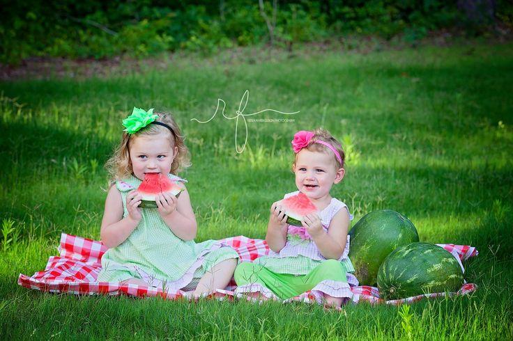 Summer watermelon photo shoot!!