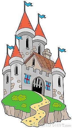Collection Of Cartoon Medieval Castles Stock Photo - Image: 25357550