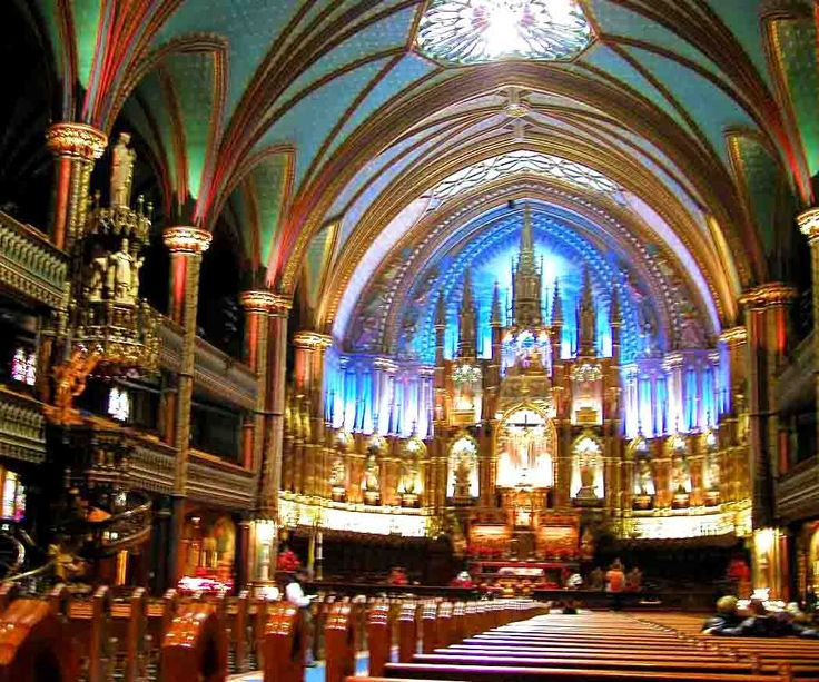 Notre Dame - old Montreal
