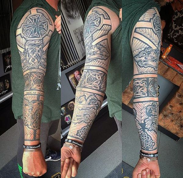 Scottish Tattoos For Men: Best 25+ Celtic Sleeve Tattoos Ideas On Pinterest