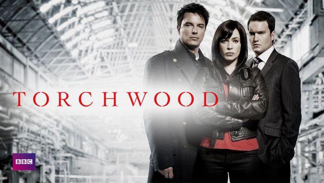 Torchwood (sci-fi/krimi/drama/mysterie) Denne Doctor Who-spinoff følger holdet på Torchwood Institute og deres kamp mod de onde rumvæsner, ledet af den gådefulde kaptajn Jack Harkness.