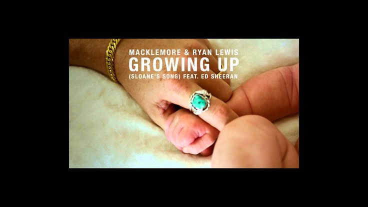 Macklemore & Ryan Lewis - Growing Up (Sloane's Song) feat. Ed Sheeran >> I really don't have the words to say that could do this song justice. It's one of the most beautiful songs in the whole pop culture and I am not lying when I say it made me cry.