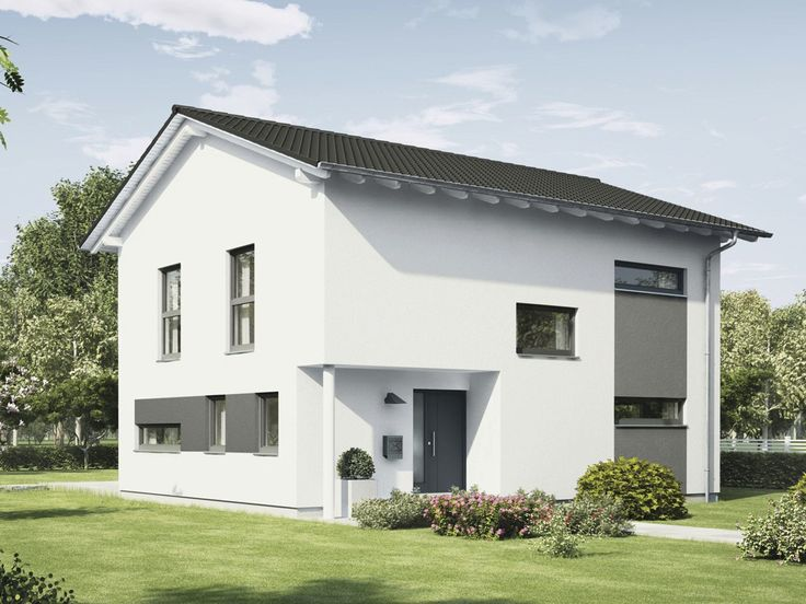 Passivhaus fertighaus  Haus 2-geschossig generation 5.5 – 300 • Passivhaus von WeberHaus ...