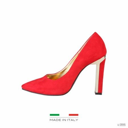 Versace női magassarkú cipő  PELAGIE_ROSSO