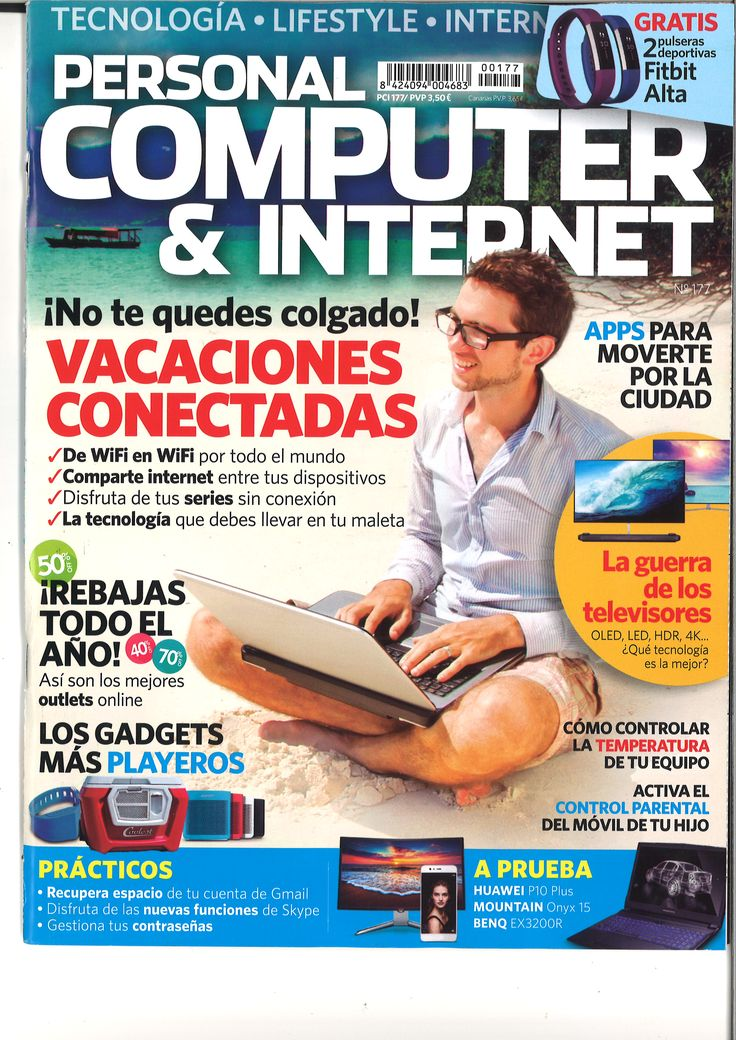 Personal computer & Internet. Nº 177, julio. 2017