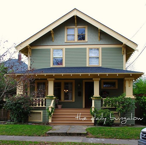 130 Best Images About Craftsman Bungalow Homes On