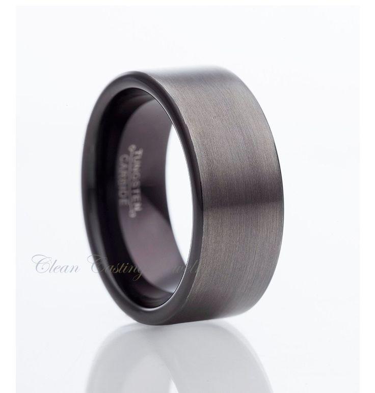 Best 25 Tungsten carbide wedding bands ideas on Pinterest