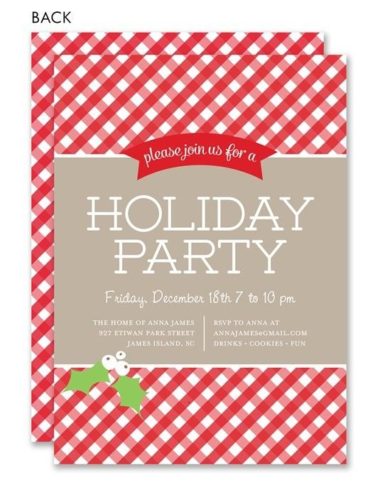 40 best holiday potluck images on pinterest christmas holidays order customized holiday party invitations at affordable prices find invites for halloween christmas memorial day and more stopboris Image collections